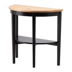 ARKELSTORP Console table, black black 80x40x75 cm
