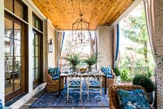 Spring, summer, winter, fall – this is the backyard patio fit for them all.