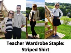A Little Bit of WoWe : Teacher Wardrobe Staples: Part 3 [The Outfits] http://littlebitofwowe.blogspot.com/2013/08/teacher-wardrobe-staples-part-3-outfits.html