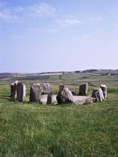 Drombeg Prehistoric Stone Circle, County Cork, Munster, Eire (Republic of Ireland) Photographic Print