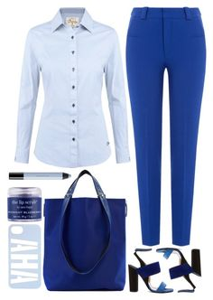 """""""blue"""" by ecem1 ❤ liked on Polyvore featuring DUBARRY, Roland Mouret, Paul Andrew, Haerfest, Sara Happ and shu uemura"""
