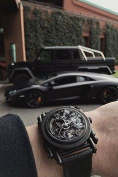 Cars and watch to match