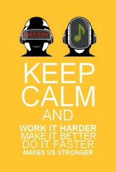 Betta fasta stronga! #Daft #punk