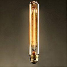 Superb KingSo x Schraube Gl hlampe Gl hlampen Vintage Retro old fashioned Edison R hrenf rmige Gl hbirne Lampe