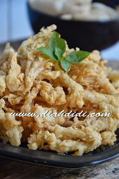 Diah Didi's Kitchen: Jamur Crispy...Dengan Tepung Crispy..^_^