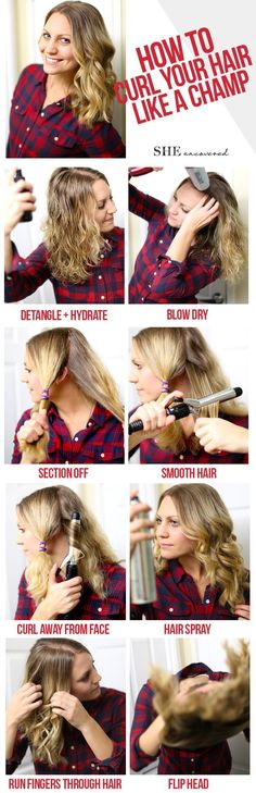 Want loose, chic curls? Here's How to Curl Your Hair in just 30-Minutes!