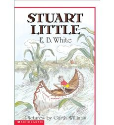 A hardcover edition of this treasured story, for which Garth Williams's original black-and-white line drawings for the jacket of Stuart Little have been colorized by the celebrated illustrator Rosemary Wells. Stuart Little is no ordinary mouse. Garth Williams, Stuart Little, Toys For Little Kids, Little Books, Great Books, My Books, Library Books, Book Shirts, Kids Story Books