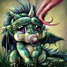 Cute Baby Dragons | Smoczek by ~Limboplus OMG cute Dragon baby!!!! | Dragons & fairys