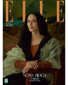 Sonia Braga for Elle Brazil December 2017 | Art8amby's Blog