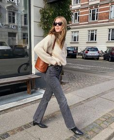 Casual Fall Outfits, Fall Winter Outfits, Autumn Winter Fashion, Mango Fashion, Autumn Street Style, Casual Chic Style, Fall Looks, European Fashion, Daily Fashion