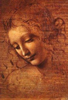 La Scapigliata, Leonardo Davinci