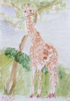 """""""Giraffenfrühstück"""" von Emo  S  C  H  U  S  C  H  N  I  G"""
