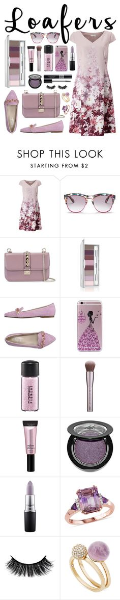 """#loafers"" by itsybitsy62 ❤ liked on Polyvore featuring Jacques Vert, Wildfox, Valentino, Clinique, Vintage Del Forte, MAC Cosmetics, Beauty Rush, Manuka, Christian Dior and Michael Kors"