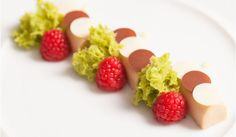 Roasted White Chocolate, Pistachio, Raspberry
