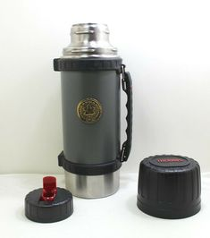 Thermos Vacuum Bottle Model: 2490 Thermos Canmar Safety Award Limited Edition #Thermos Vacuums, Safety, Conditioner, Lunch Box, Office Supplies, Bottle, Store, Model, Ebay