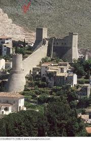 Historic Castle in the Town of Itri, Lazio, Italy