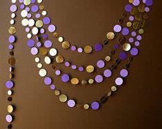 Oro boda guirnalda guirnalda de oro el por TransparentEsDecor