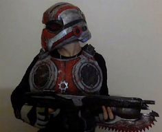 Picture of Gears of war costume