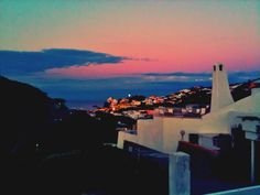 ponza sunset