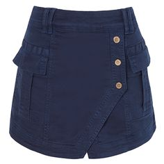 ANIMALE - Short saia ocean - azul - R$ 457,00