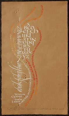 Dalai Lama i la cal·ligrafia Calligraphy Words, Script Lettering, Penmanship, Typography Letters, Graphic Design Typography, Modern Calligraphy, Beautiful Calligraphy, Illuminated Letters, Illuminated Manuscript