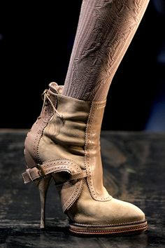 ankle boots christian dior automne hiver 2010 2011