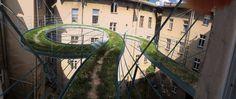 Zdjęcie numer 1 w galerii - Wiszący ogród w Gliwicach