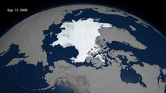 Arctic Sea Ice - Sept 12, 2009