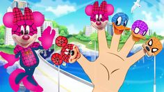 Mickey Mouse Spiderman Finger Family Song Flying Wings - Mickey Mouse Cl...
