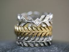 wheat bands by Cathy Waterman. love