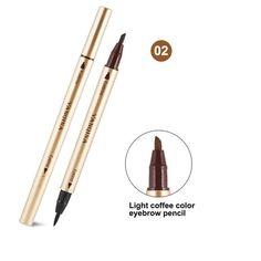 1Pcs Black Long Lasting Eye Liner Pencil Waterproof Eyeliner Smudge-Proof Cosmetic Beauty Makeup Liquid Eyeliner Pen