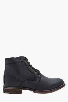 boohoo Lace Up Worker Boots