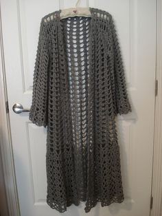 Ravelry: Project Gallery for Lacy Duster pattern by Doris Chan