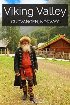 Viking Village Njardarheimr - One of The Highlights in Gudvangen Flam - Viking Valley Njardarheimr in Gudvangen is one of the highlights of the Flam area in Norway - Bergen, Norway Vacation, Norway Travel, Travel Europe, Oslo, Lillehammer, Viking Village, Bon Plan Voyage, Norway Viking