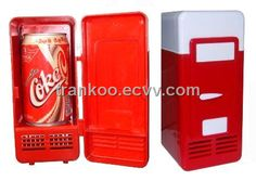 Cool Inventions mini fridge Small Refrigerator, Mini Fridge, Small Fridges, Awesome Inventions, Cool Stuff, Stuff To Buy, Usb, Gifts, Cool Things