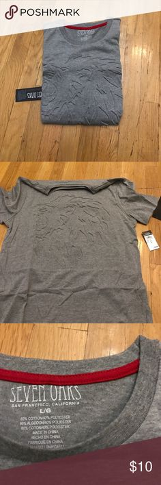 Seven oaks lion print shirt Brand new Seven7 Shirts Tees - Short Sleeve