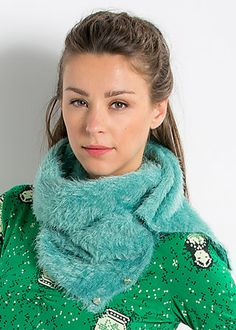 button me up scarf, russian peppermint