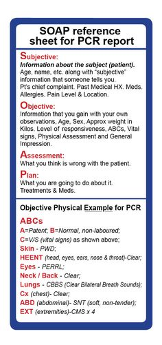 emt assessment cheat sheet - Yahoo Image Search Results