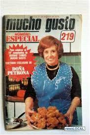 Revista Mucho Gusto, en la tapa Doña Petrona C. de Gandulfo.   ~lbk~