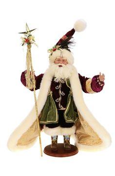 Mark Roberts 'Dream Maker' Santa Figurine - Green