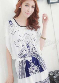 Korean White Blouse