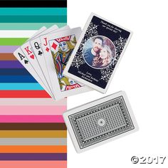 Custom Photo Playing Cards - OrientalTrading.com