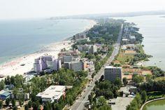 Mamaia resort, Black Sea, Romania. www.romaniasfriends.com / SEJOURS / Romania's Black Sea Resorts.