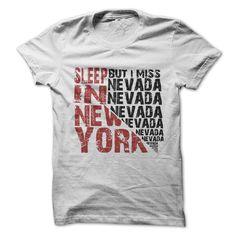 Sleep in New York But i miss Nevada
