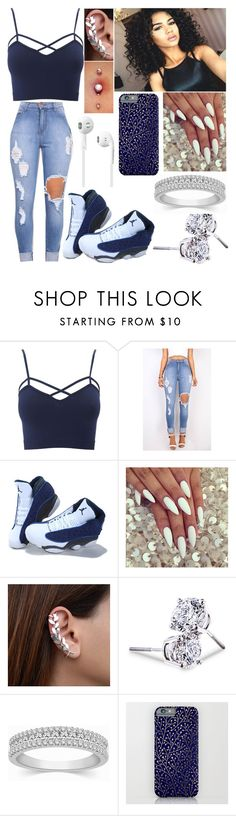 """""""Untitled #220"""" by kya-booda ❤ liked on Polyvore featuring Charlotte Russe, Lord & Taylor and plus size clothing"""