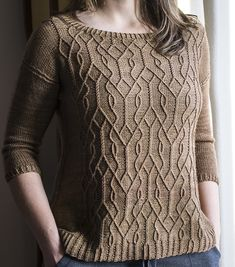Ravelry: Project Gallery for Aviara Pullover pattern by Irina Anikeeva