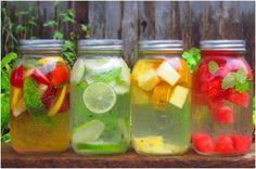 Comment faire une eau aromatisée, saine et rafraîchissante !