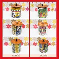 Jie Gantofta Storage Jars for Sale at yay retro! - Retro, Vintage China, Glassware, Kitchenalia, fabrics and books - yay retro!