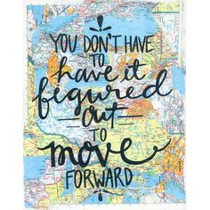 Move Forward Canvas Print