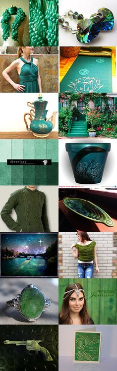 The ♡ Intelligent ♡ Emerald! ♡ by Julia Apostolova on Etsy